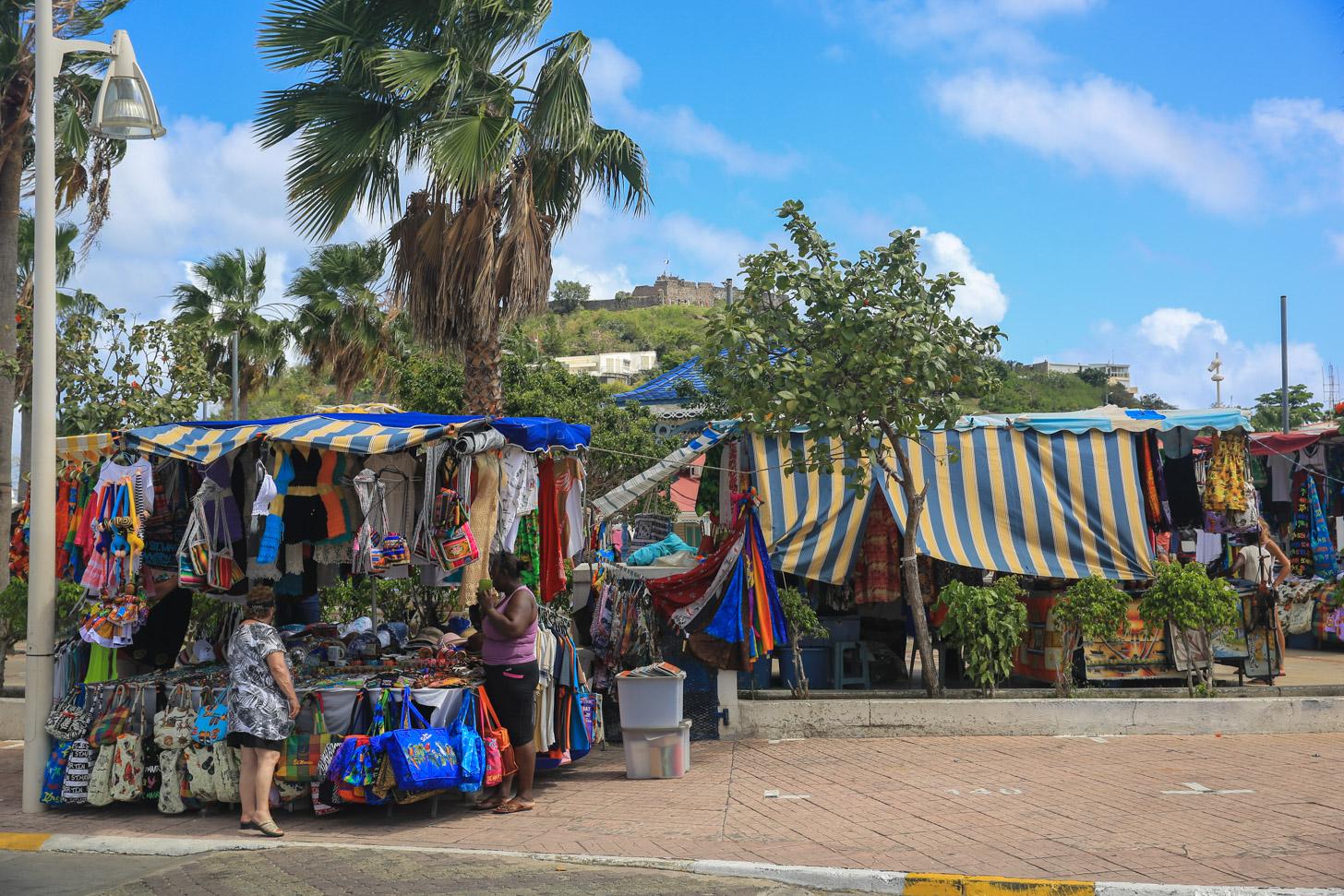 Markt van Marigot