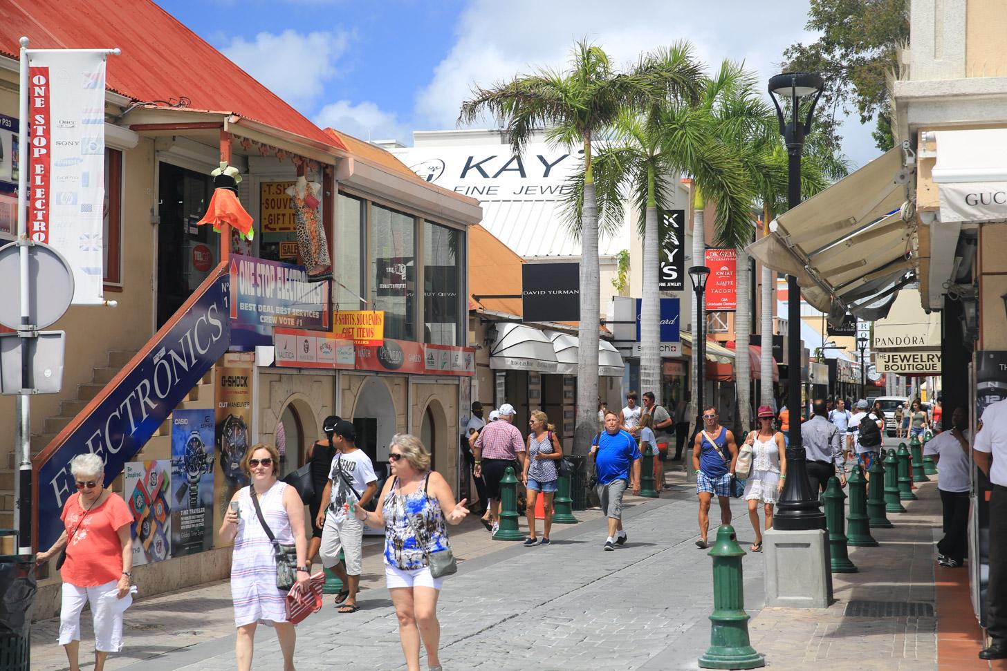 Winkelen op Sint Maarten