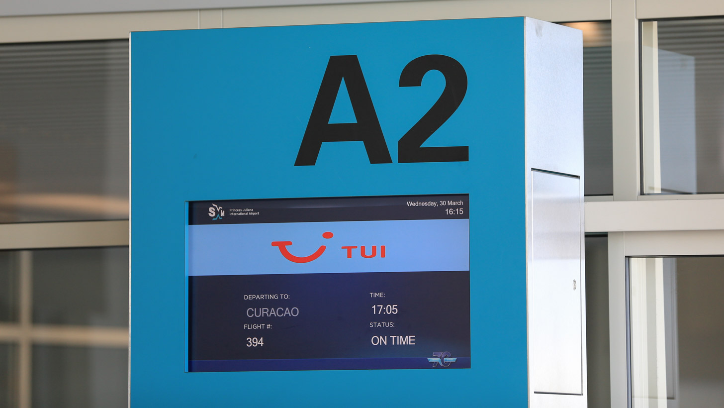 Tussenlanding op Curaçao